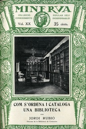 Com s'ordena i cataloga una biblioteca, de Jordi Rubió