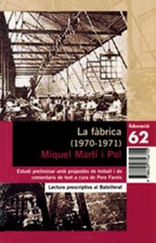 La fàbrica, de Miquel Martí i Pol