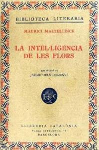 La intel·ligència de les flors, Maeterlinck