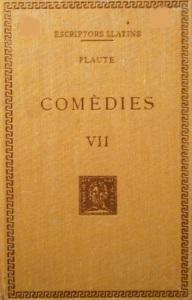 Comèdies de Plaute