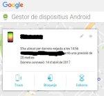 Gestor de dispositius Android