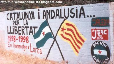 Catalunya i Andalusia, imatge del blog Universo Andalucista