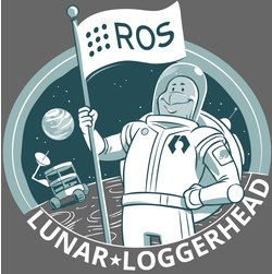 Logo ROS Lunar Loggerhead, www.ros.org