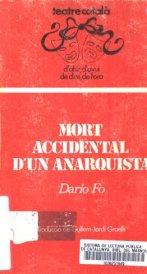 Mort accidental d'un anarquista, Dario Fo