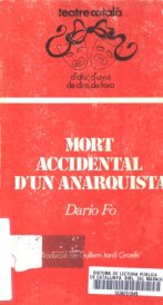 Mort accidental d'un anarquista, Dario Fo