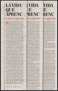 La vida que aprenc, de Carles Capdevila