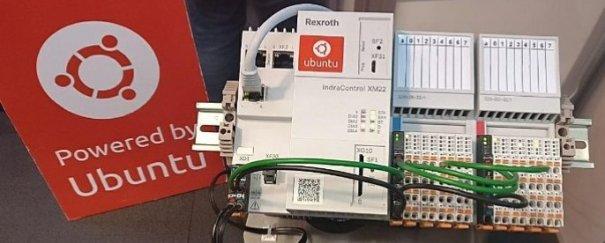 IndraControl XM22 amb Ubuntu Core, de Rexroth (Grup Bosch), imatge de www.ubuntu.com