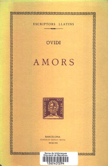 Amors, d'Ovidi