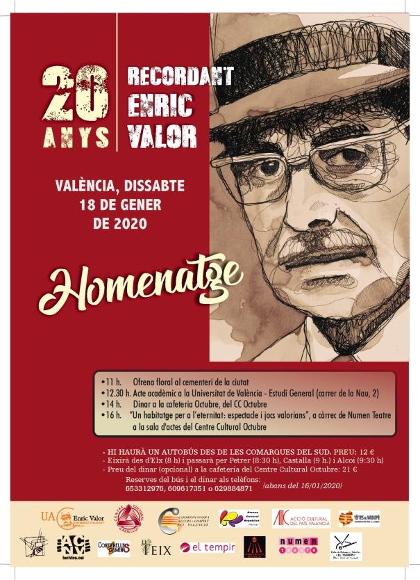 IMPRESSIÓ cartell Enric Valor 1
