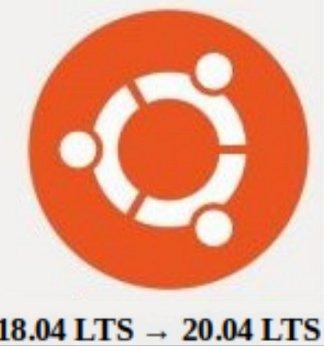 Ubuntu 18.04 LTS a 20.04 LTS